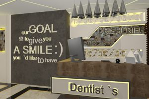 <strong>Dentist Clinic<span><b>in</b>clinics </span></strong><i>→</i>